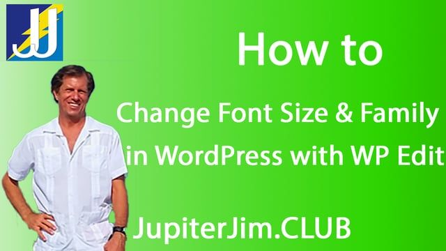 how-to-change-font-size-family-wp-edit